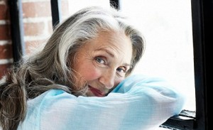 Grayhaired Woman by Window